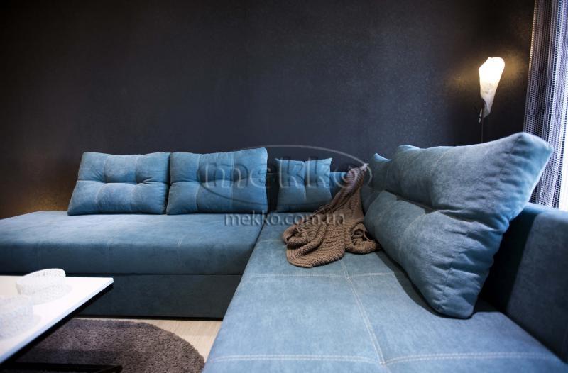 Кутовий диван з поворотним механізмом (Mercury) Меркурій ф-ка Мекко (Ортопедичний) - 3000*2150мм  Кремінна-5