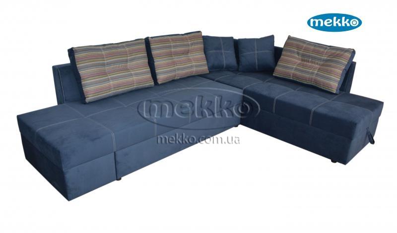 Кутовий диван з поворотним механізмом (Mercury) Меркурій ф-ка Мекко (Ортопедичний) - 3000*2150мм  Кремінна-13