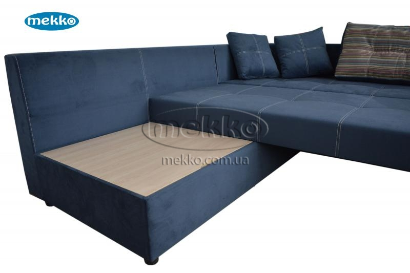 Кутовий диван з поворотним механізмом (Mercury) Меркурій ф-ка Мекко (Ортопедичний) - 3000*2150мм  Кремінна-17