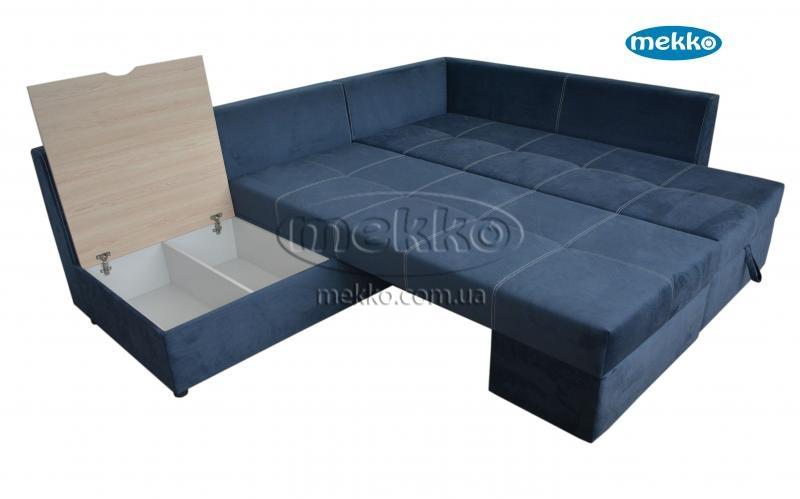 Кутовий диван з поворотним механізмом (Mercury) Меркурій ф-ка Мекко (Ортопедичний) - 3000*2150мм  Кремінна-19