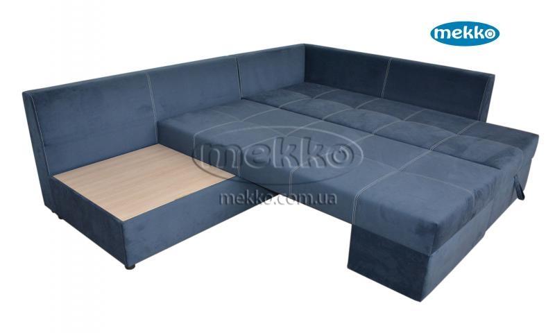 Кутовий диван з поворотним механізмом (Mercury) Меркурій ф-ка Мекко (Ортопедичний) - 3000*2150мм  Кремінна-16