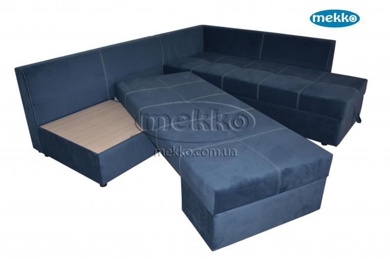 Кутовий диван з поворотним механізмом (Mercury) Меркурій ф-ка Мекко (Ортопедичний) - 3000*2150мм  Кремінна-15