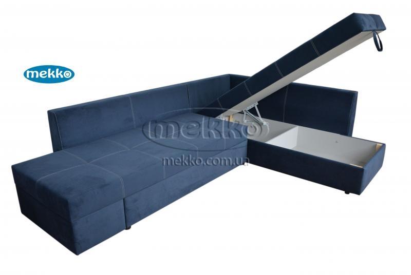 Кутовий диван з поворотним механізмом (Mercury) Меркурій ф-ка Мекко (Ортопедичний) - 3000*2150мм  Кремінна-14