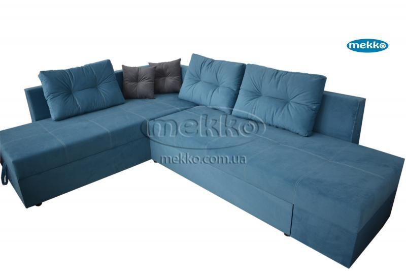 Кутовий диван з поворотним механізмом (Mercury) Меркурій ф-ка Мекко (Ортопедичний) - 3000*2150мм  Кремінна-10