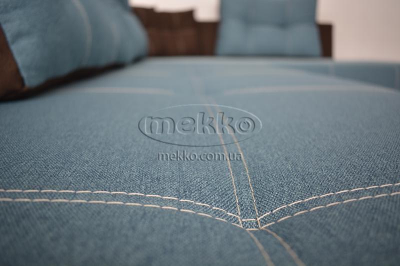 Кутовий диван з поворотним механізмом (Mercury) Меркурій ф-ка Мекко (Ортопедичний) - 3000*2150мм  Кремінна-9