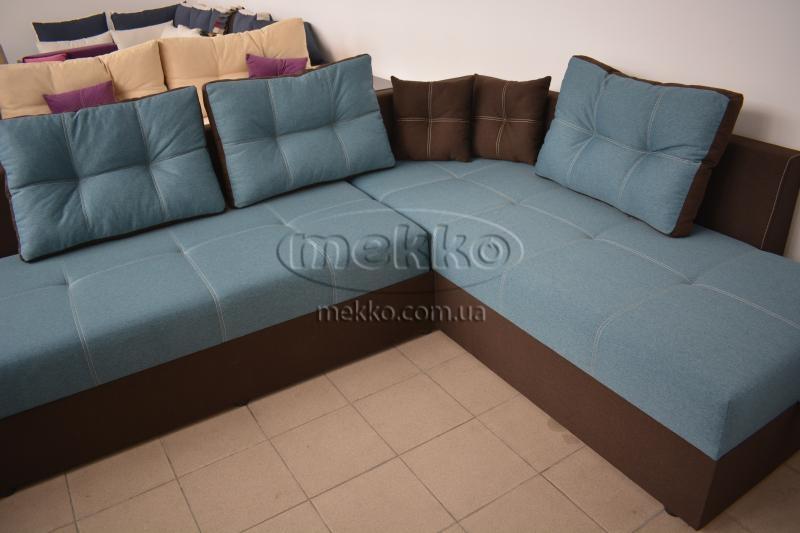 Кутовий диван з поворотним механізмом (Mercury) Меркурій ф-ка Мекко (Ортопедичний) - 3000*2150мм  Кремінна-8