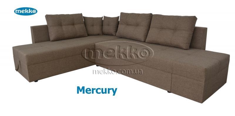 Кутовий диван з поворотним механізмом (Mercury) Меркурій ф-ка Мекко (Ортопедичний) - 3000*2150мм  Кремінна-12